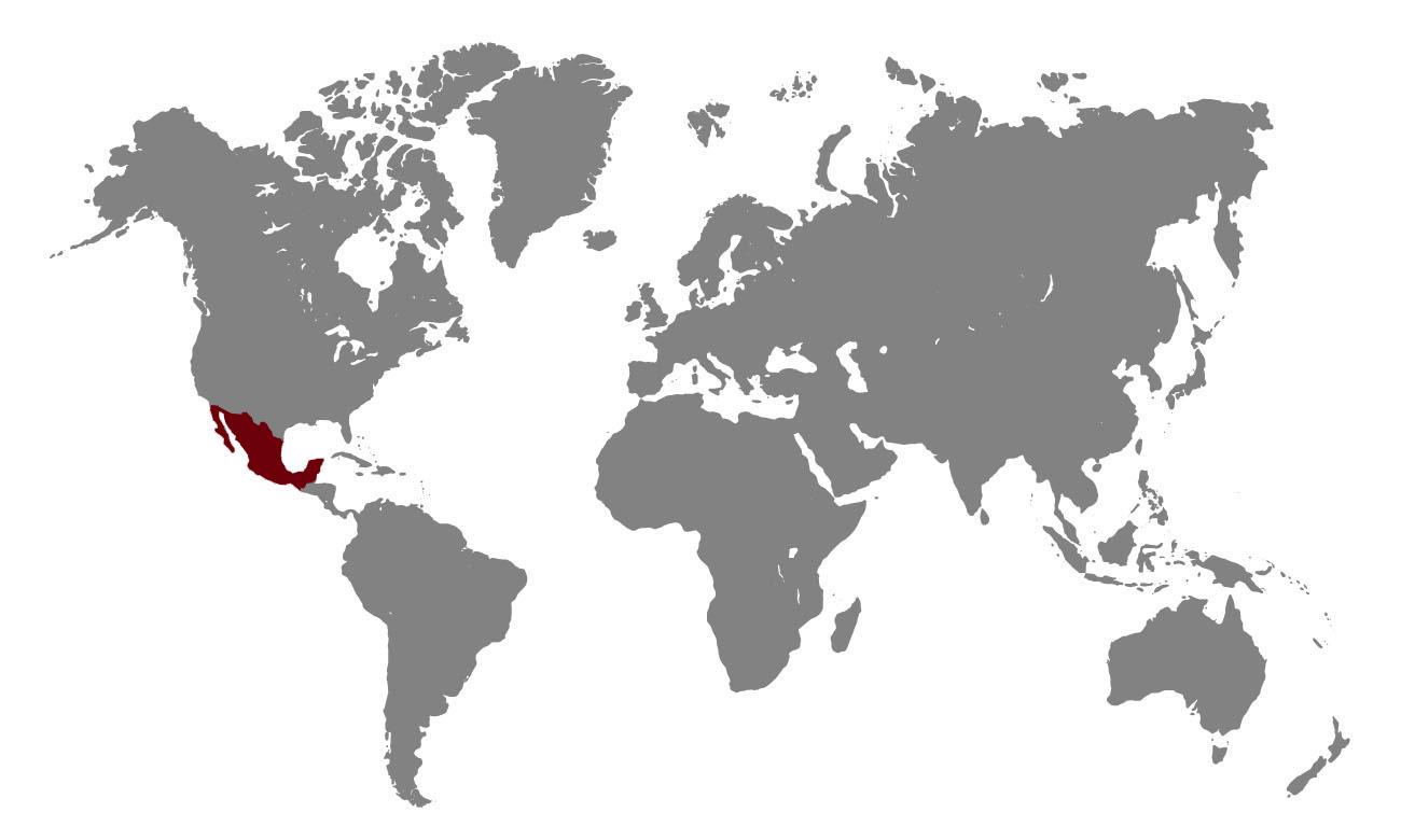 Mapa distribución Probeca